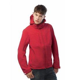 B&C veste capuche softshell homme