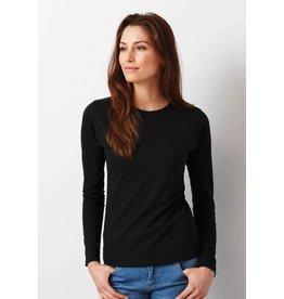 GILDAN tee-shirt col rond femme 150gr manches longues