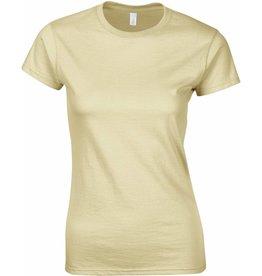GILDAN tee-shirt femme col rond 150gr manches courtes