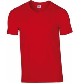 GILDAN tee-shirt col V homme 150gr manches courtes
