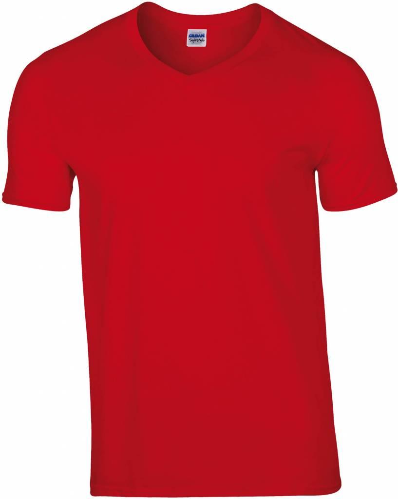 gildan tee shirt col v homme 150gr manches courtes nibetex v tement de travail objets. Black Bedroom Furniture Sets. Home Design Ideas