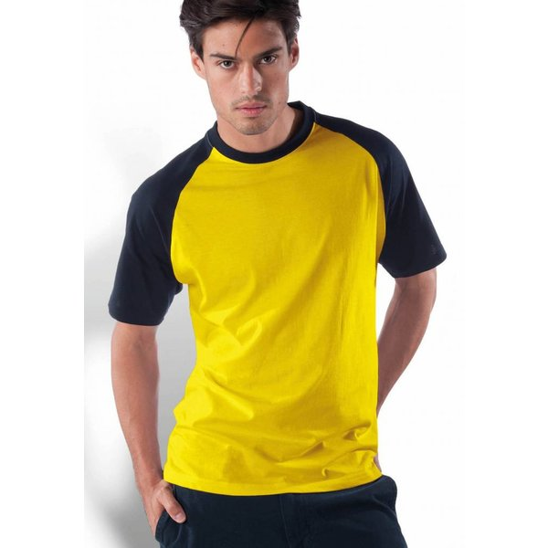 Tee-shirt homme bicolore