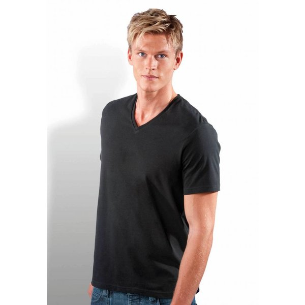 Tee-shirt homme col V manches courtes