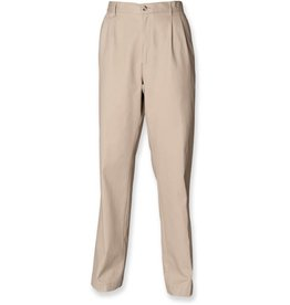 henbury pantalon homme avec traitement teflon