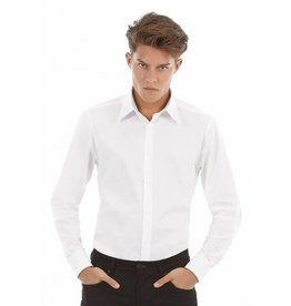 B&C chemise homme london manches longues