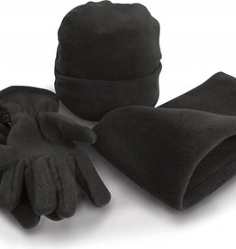 Result set de bonnet, écharpe et gants polaire