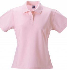 RUSSELL polo pima femme manches courtes
