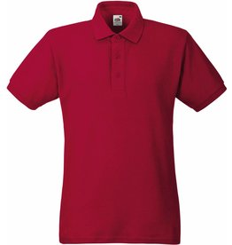 FRUIT OF THE LOOM polo lourd piqué manches courtes