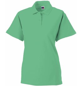 RUSSELL polo piqué femme manches courtes