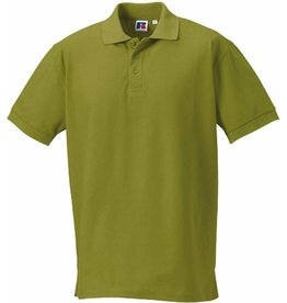 RUSSELL polo piqué homme manches courtes