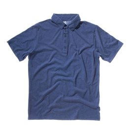 BELLA polo jersey 5 boutons manches courtes