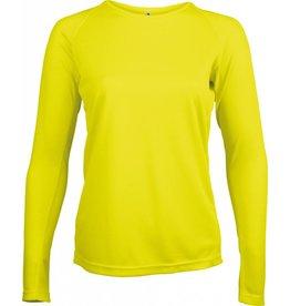 PROACT tee-shirt femme sport manches longues