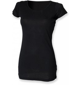 skinnifit tee-shirt extra long manches courtes