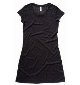 BELLA robe tee-shirt vintage manches courtes