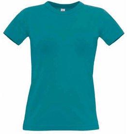 B&C tee-shirt femme exact 190 manches courtes