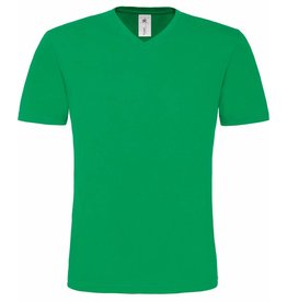 B&C tee-shirt homme col V mick manches courtes