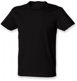 skinnifit tee-shirt homme élasthanne manches courtes