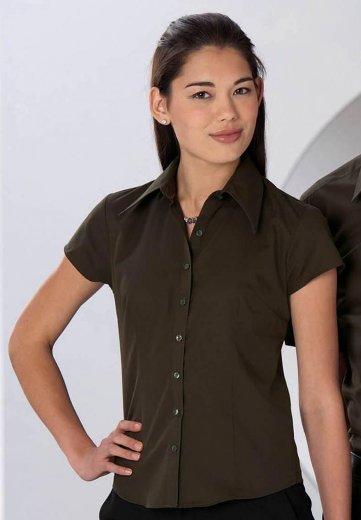 russell chemise femme cintr e ru955f nibetex v tement de travail objets publicitaires. Black Bedroom Furniture Sets. Home Design Ideas