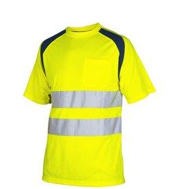 PROJOB 6006 tee-shirt signalisation classe 2 manches courtes