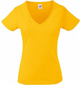 FRUIT OF THE LOOM tee shirt femme valueweight 165gr