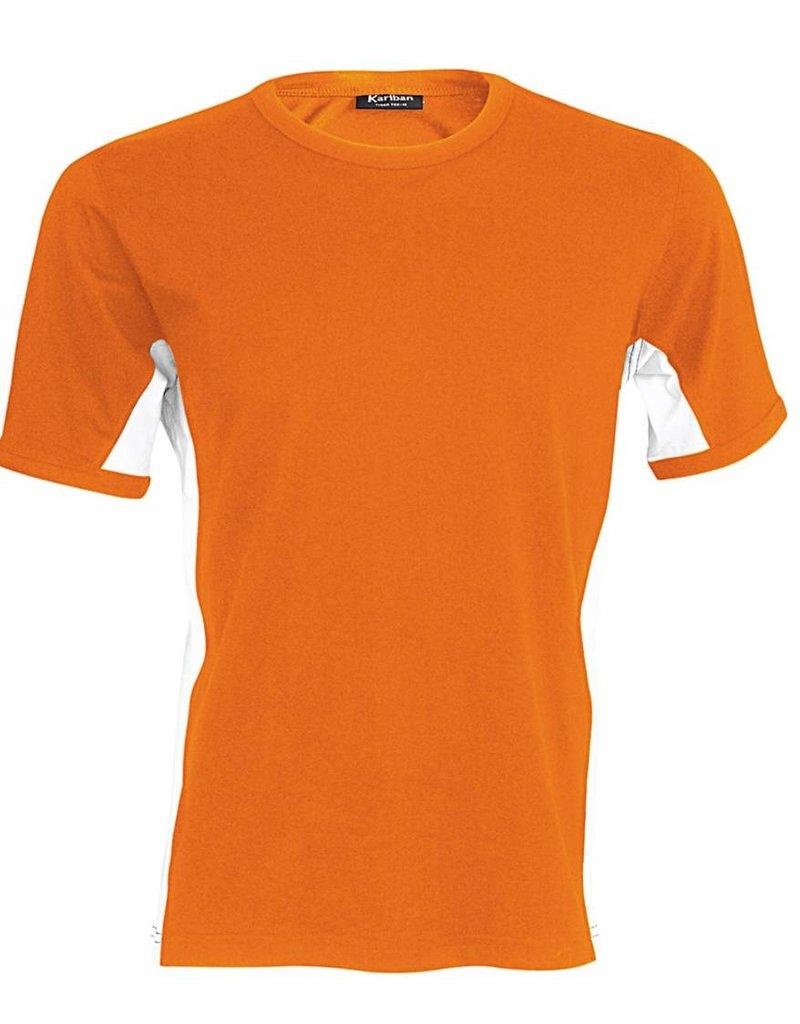 KARIBAN tee-shirt Tiger bicolore 165gr manches courtes