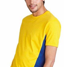 KARIBAN tee-shirt Tiger bicolore 165gr K340