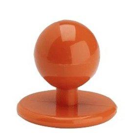 EGOCHEF boutons bille orange