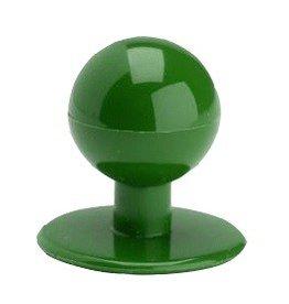 EGOCHEF boutons bille vert kelly