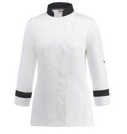 EGOCHEF veste cuisine femme bicolore