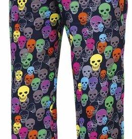 EGOCHEF pantalon cuisine élastique crânes couleurs