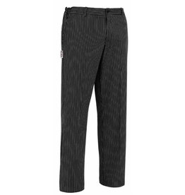 EGOCHEF pantalon cuisine aucun plis rayures