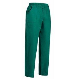 EGOCHEF pantalon avec cordon de serrage vert médical