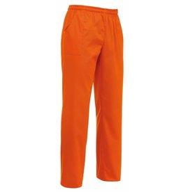 EGOCHEF pantalon avec cordon de serrage orange
