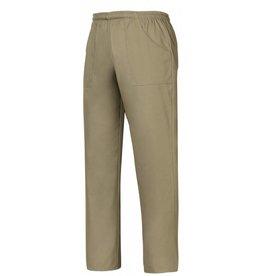 EGOCHEF pantalon avec cordon de serrage kaki