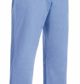 EGOCHEF pantalon infirmière poches intérieures bleu ciel