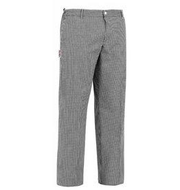 EGOCHEF pantalon cuisine avec cordon de serrage petits carreaux