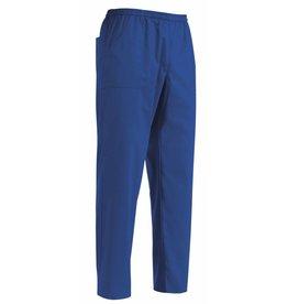 EGOCHEF pantalon avec cordon de serrage bleu roi