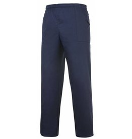 EGOCHEF pantalon avec cordon de serrage bleu marine