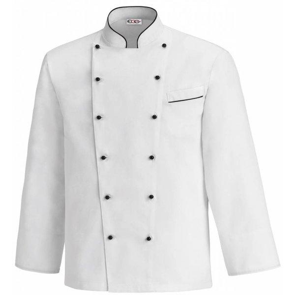 Veste cuisine veste cuisinier nibetex v tement de for Veste de cuisine brodee