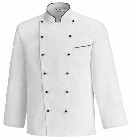EGOCHEF veste cuisine grande taille bicolore