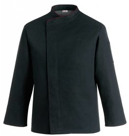 EGOCHEF veste cuisine grande taille noir contrastée