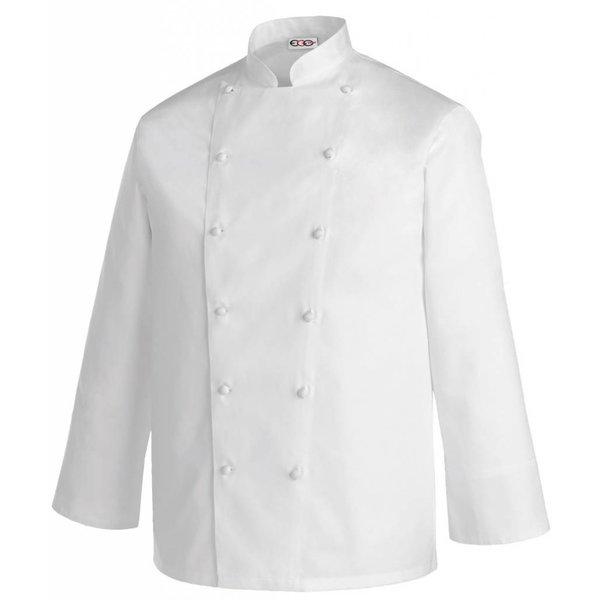 Veste cuisine blanche ou couleur unie