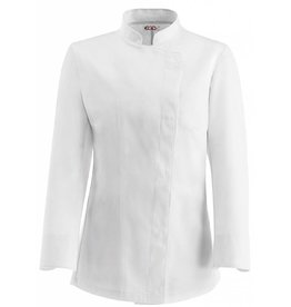 EGOCHEF veste cuisine femme blanche