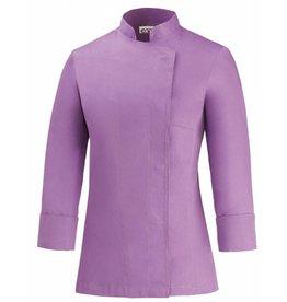 EGOCHEF veste cuisine femme lilas