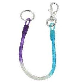 porte-clés spiral tri-colors