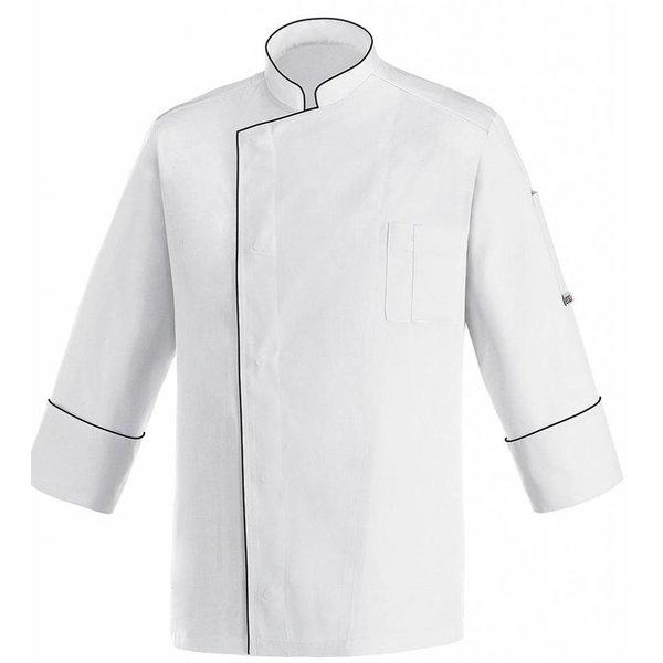 Veste cuisine contrastée