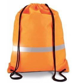 KIMOOD sac à dos haute avec cordelettes haute visibilité