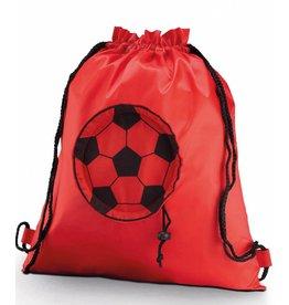 KIMOOD sac à dos avec cordelettes ballon de foot