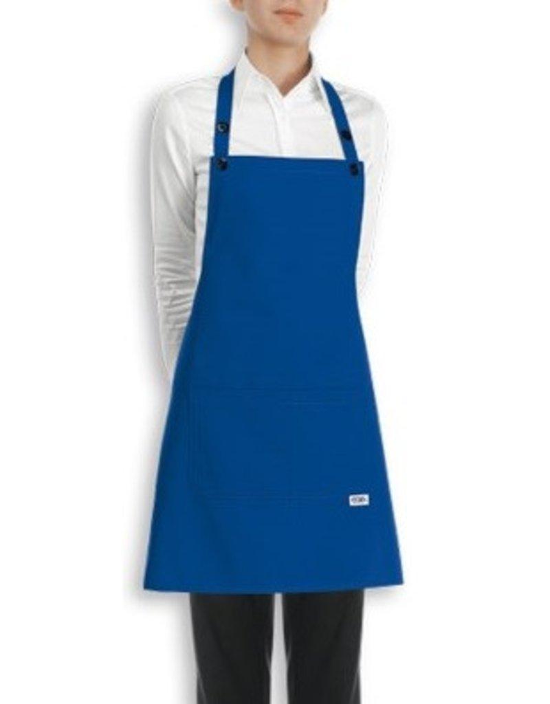 Egochef tablier bavette coton 70x70 cm nibetex for Tablier de cuisine uni
