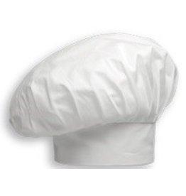 EGOCHEF toque de cuisine grande taille blanc